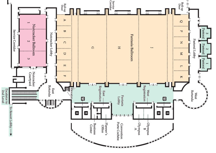 Conference Facility Floor Plans